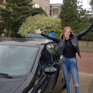 rijbewijs gehaald Julia